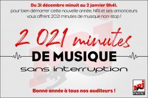 2021 minutes de MUSIQUE !