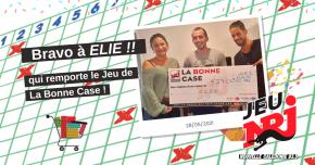 Elie, 1er gagnant de La Bonne Case